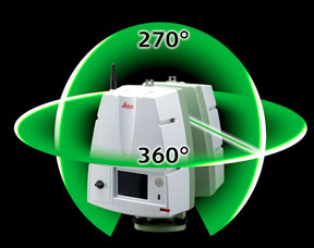 Leica Geosystems HDS 360 Degree Scan