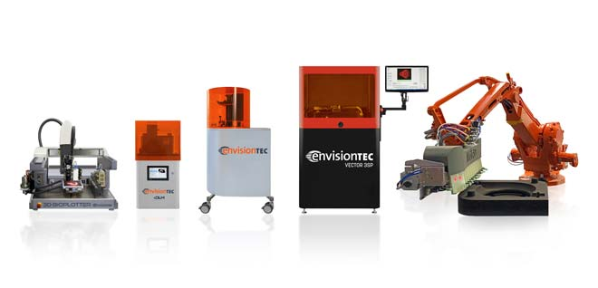 Exact Metrology Named Midwest Dealer for EnvisionTEC 3D Printers