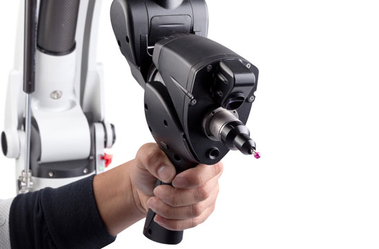 romer absolute arm laser scanner