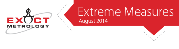 Exact Metrology - Extreme Measures - August 2014