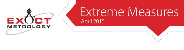 Exact Metrology - Extreme Measures - April 2015