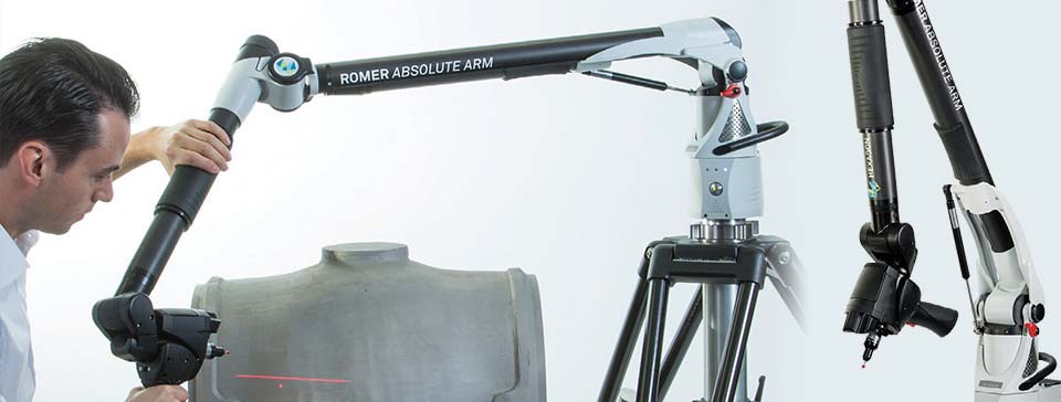ROMER Absolute Arm with Integrated Scanner