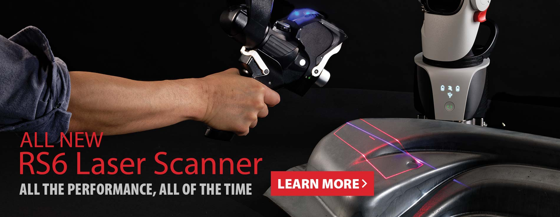 New Hexagon Absolute Arm RS6 Laser Scanner