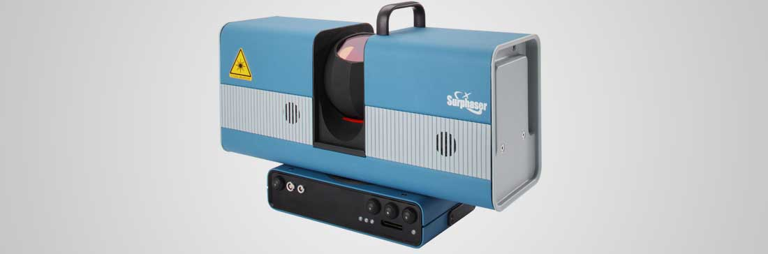 Hemispherical 3D Scanner Surphaser® 100SR